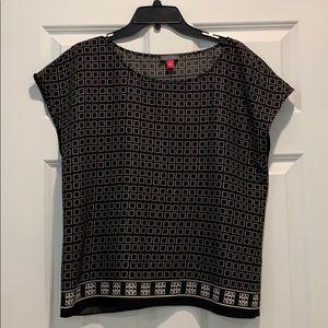 Black Vince Camuto blouse